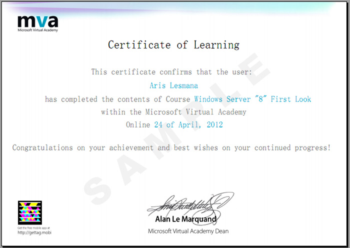Offer Microsoft Virtual Academy Other Shares It Certification Forum