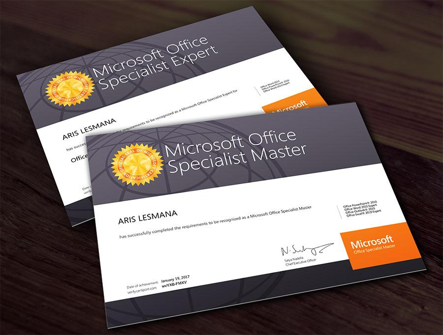 Sertifikasi Microsoft