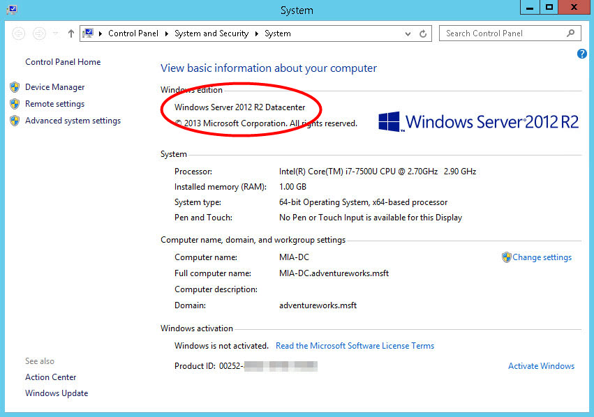 Merubah Windows Server Evaluation menjadi Full Version