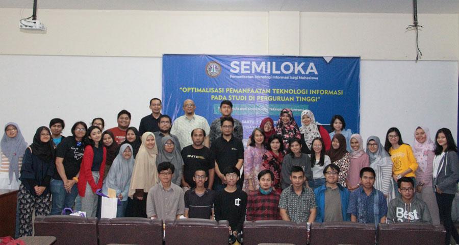Semiloka: Optimalisasi Pemanfaatan Teknologi Informasi pada Studi di Perguruan Tinggi