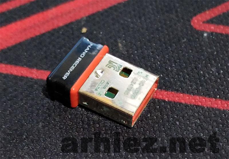 Mengganti-Logitech-Wireless-Receiver-Dengan-Receiver-Bekas-0