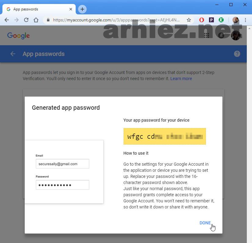 Menggunakan-Account-Gmail-Dengan-2-Step-Verification-pada-Microsoft-Outlook-6