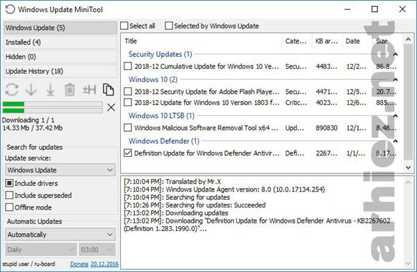 Menonaktifkan Fitur Windows Update Secara Permanen pada Windows 10