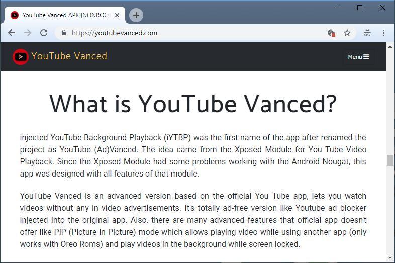 YouTube Bebas Iklan pada Perangkat Android