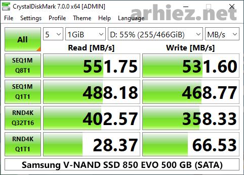 CrystalDiskMark-Samsung-850-EVO
