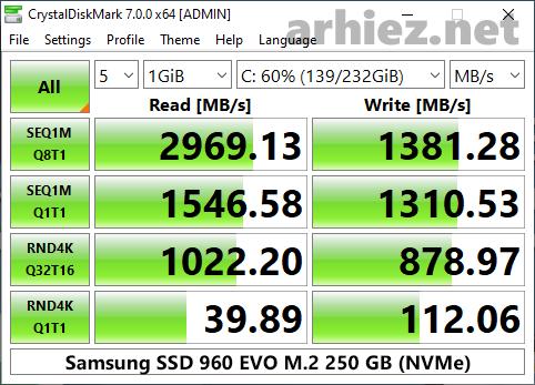CrystalDiskMark-Samsung-960-EVO