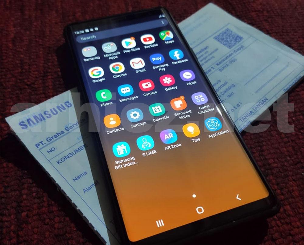 Solusi Masalah Green-Yellow Tint Samsung Galaxy Note 9_09
